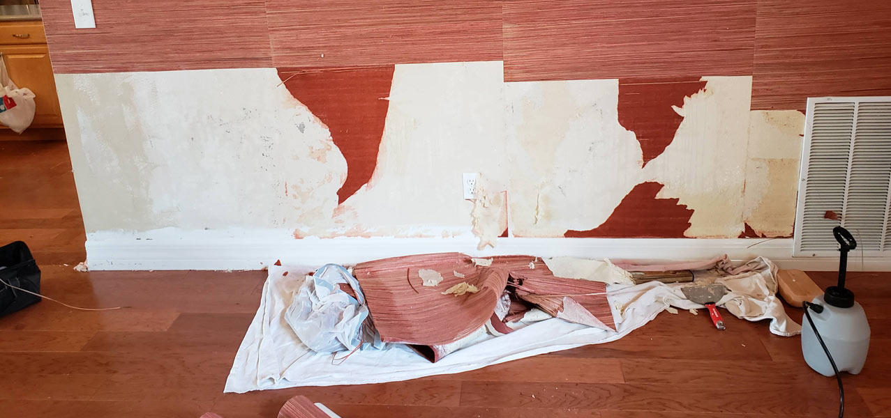 Wall Covering Repair